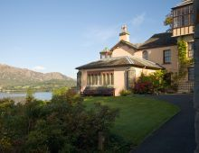 Brantwood *** Local Caption *** The Former Home of John Ruskin set in an idyllic location in Coniston.